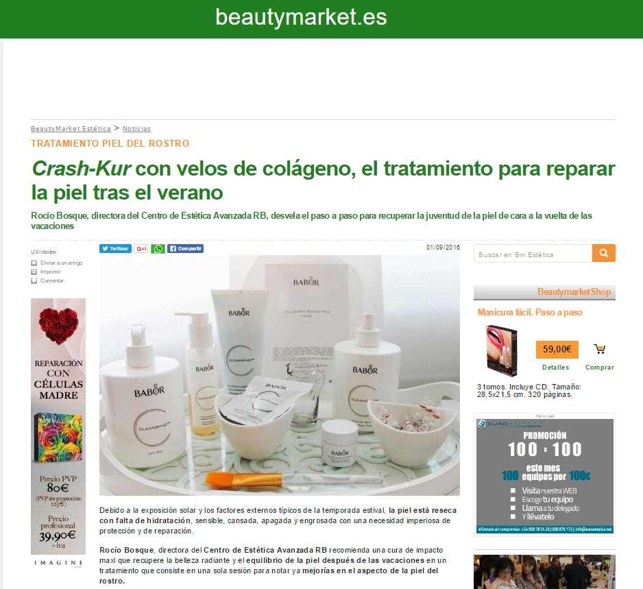 rocio crash kur beauty market